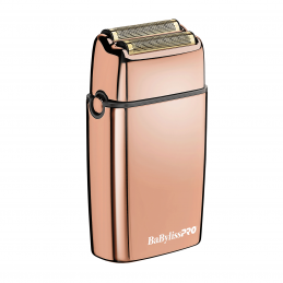 METAL DOUBLE FOIL SHAVER ROSE GOLD