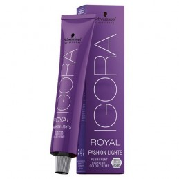 Schwarzkopf Professionnel - IGORA ROYAL FASHION LIGHTS - Coloration Permanente 60ml