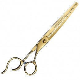 BABYLISSPRO - Gold Titanium Barber Thinners 7''